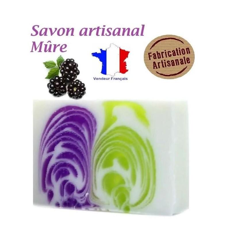 Savon Artisanal Parfum Mûre...